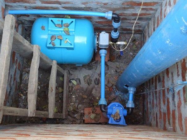 Вода из скважины: как создать автономный водопровод для...