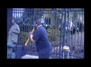 Awesome street clarinetist in New Orleans