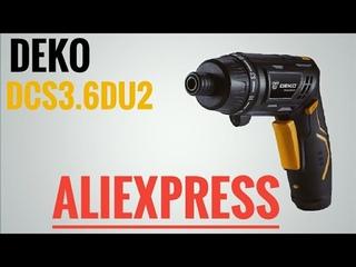 DEKO  Аккумуляторная  отвертка с Aliexpress