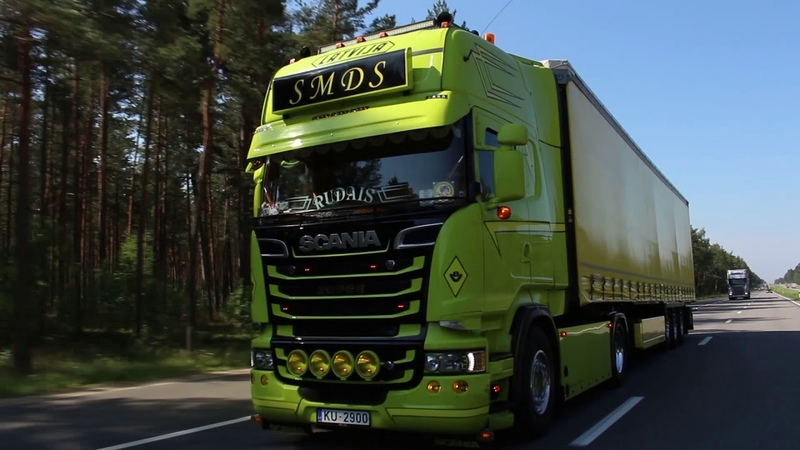 Edgars and Karlis and their Scania R500 ENG RU subs