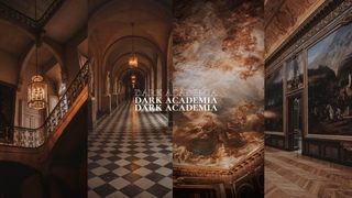 a dark academia classical study playlist + ancient library room ambience