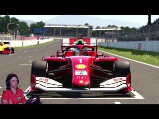 Разные тактики Тренировка Gran Turismo SPORT Nations Cup Dallara SF19 Super Formula / Honda