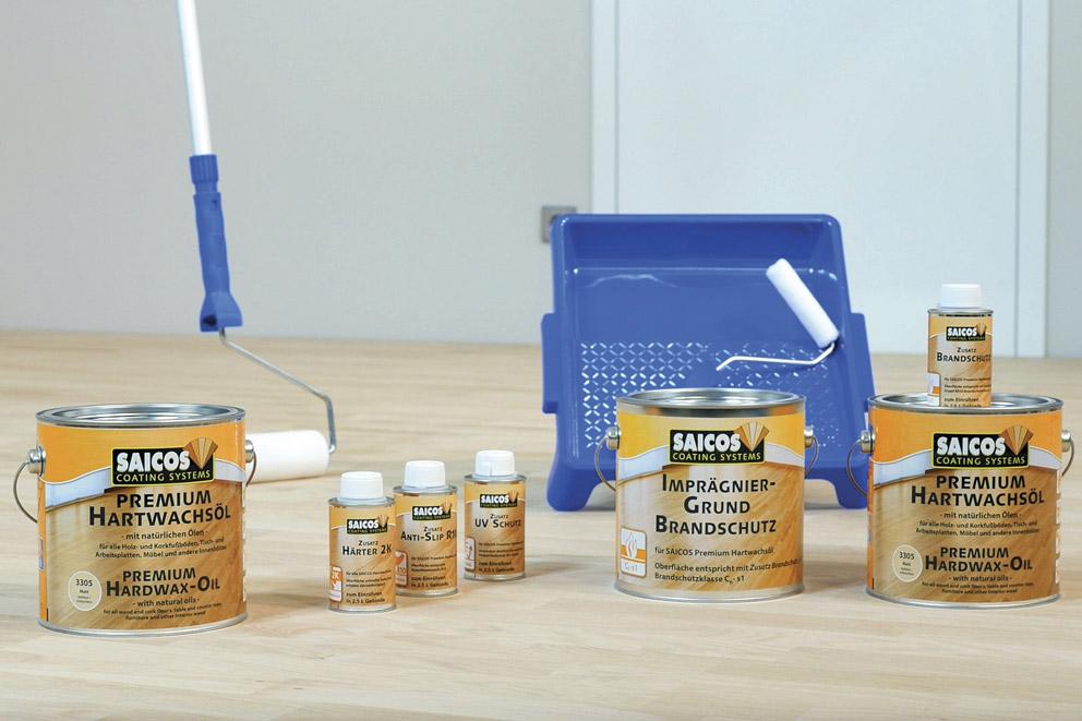 Используйте для древесины качественные покрытия и инструменты Saicos