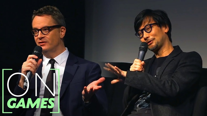 Hideo Kojima and Nicolas Winding Refn on Death Stranding On Games