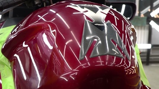 Детейлинг мотоцикла / Detailing moto HONDA ST1300