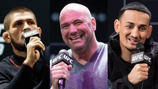 Хабиб о следующем бое, Уайт о лучшем тяжеловесе, чемпион UFC о защите двух титулов