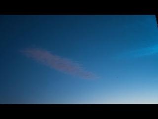 Noctilucent Clouds Timelapse