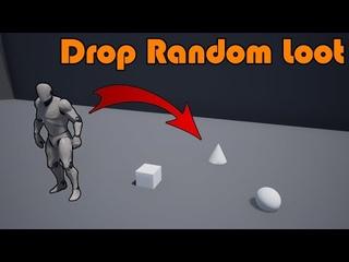 Random Loot Drops When Enemy Dies - Unreal Engine Tutorial