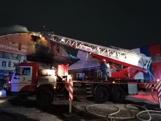 21-12-2020. Ликвидация пожара в Кургане по ул. Омская.