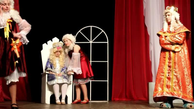 тизер-трейлер к спектаклю-сказке Суматоха в царстве Гороха