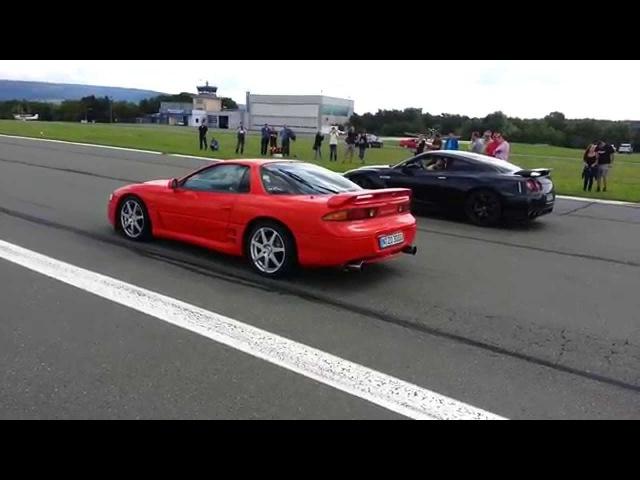 Sini's 3000GT VR4 vs Nissan GTR FOJ 2014