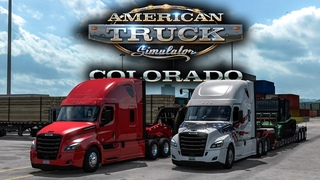 American Truck Simulator - Colorado DLC & Freightliner Cascadia | [#8] Timelapse with NalesniQ
