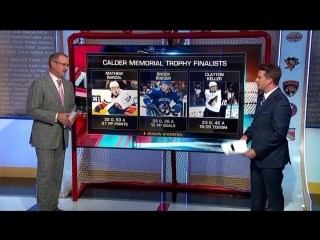 Nhl tonight calder top moments jun 18, 2018