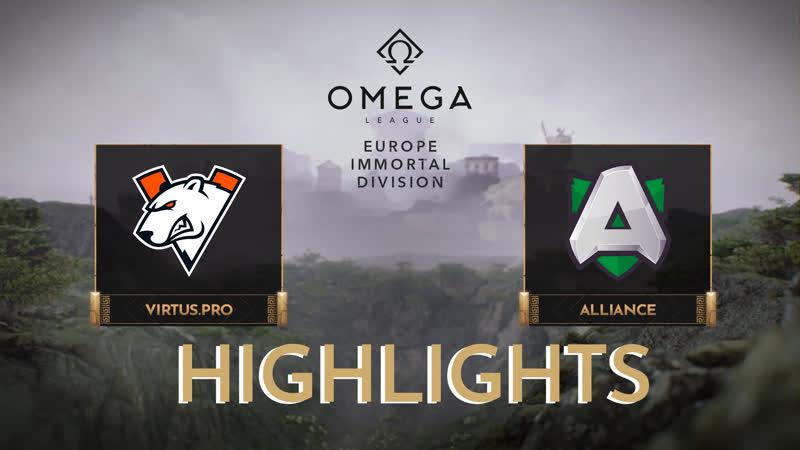 Vs Alliance Highlights OMEGA League Europe Immortal Division