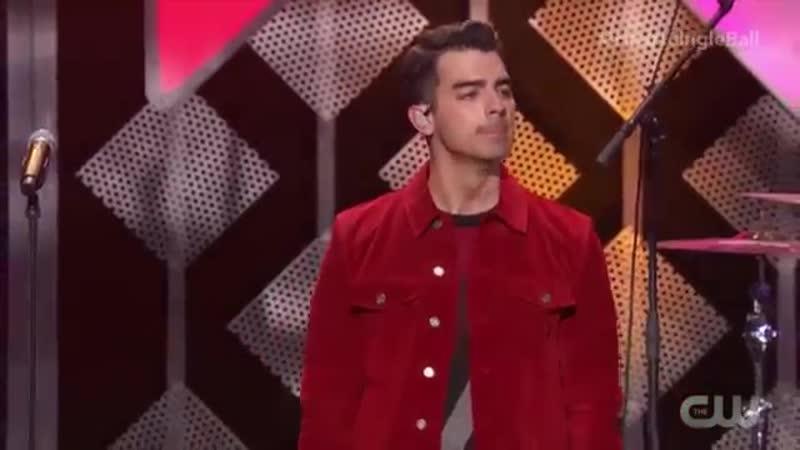 Jonas Brothers Only Its Christmas Burnin' Up Sucker Jingle Ball 2019Нью Йорк США