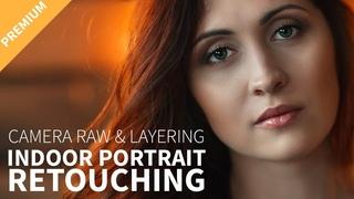 Indoor Portrait Retouching using Camera RAW