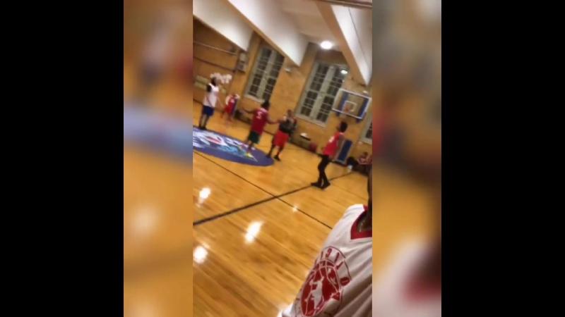 Lau, Larry, John and Rubix at basketball 🏀🏀 Via John's and Rubix's IGS 👻