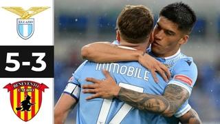 🔥 Лацио - Беневенто 5-3 - Обзор Матча Чемпионата Италии 18/04/2021 HD 🔥