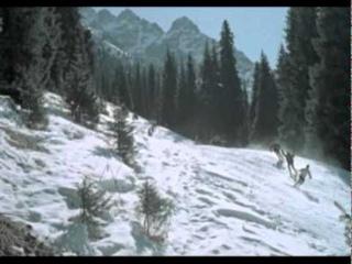 фильм Штрафной удар 1963г. - катание на лыжах