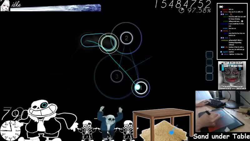 Osu! - idke - Imperial Circus Dead Decadence - Uta [Himei] HR 99.31% FC 2 937pp - Livestream!