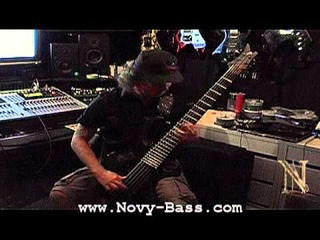 Niccolo Paganini - Caprise No. 16 on bass  - Novy (ex Behemoth & Vader )