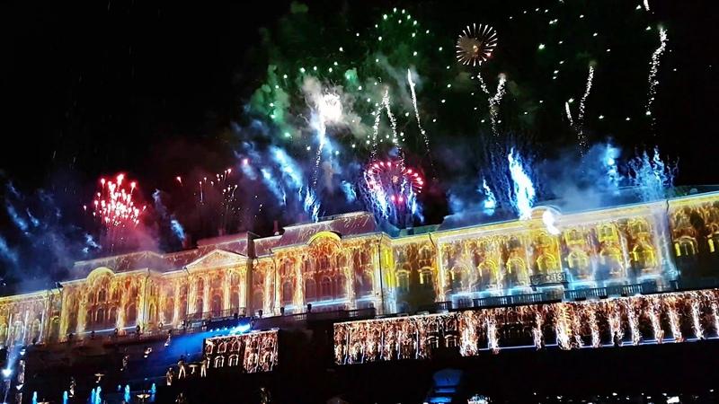 Петергоф 2019 Закрытие фонтанов безумно красиво Санкт Петербург