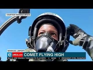 Meet S.A.'s First Black Female Fighter Pilot Maj Mandisa Mfeka: GoPro cockpit footage & Interview