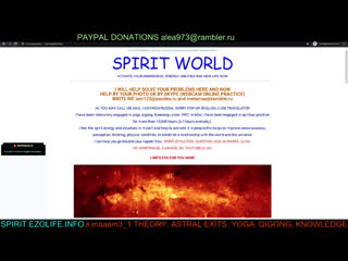 SPIRITUAL PRACTICES IN LIFE BUSINESS SEX FIRE POWER WILL HEALTH FREE ABILITIES