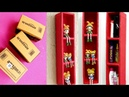 Best out of waste craft from cardboard boxes Cardboard Boxes Craft for Storage Wall Shelf making