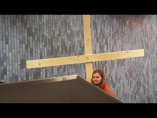 ♫ Jesus Take The Escalator ♫