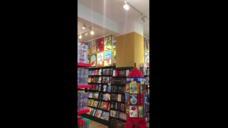 Комикс-шоп Faraos Cigarer в Копенгагене