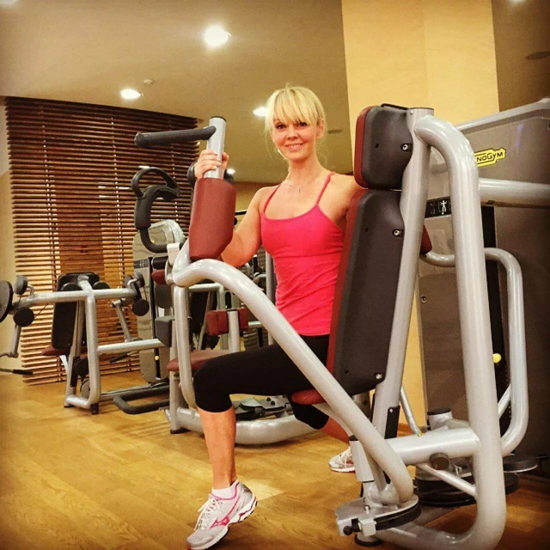 Валерия в свои 51 выглядит просто потрясающе благодаря спорту