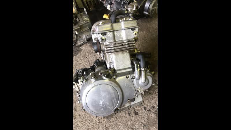 Проверка контрактного двигателя Kawasaki Vulkan 400 (EN400AE) перед отправкой клиенту | motod.ru