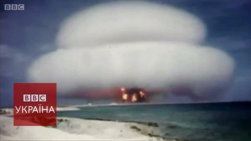 США показали ядерний вибух зблизька