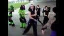 Cybergoths dance to Kirbys Dream Land - Gourmet Race