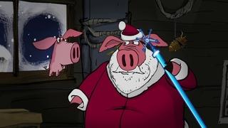 Поросёнок. Фильм 10-й - Новый год - Piglet. Part 10 - New Year Мультики Mult Box TV