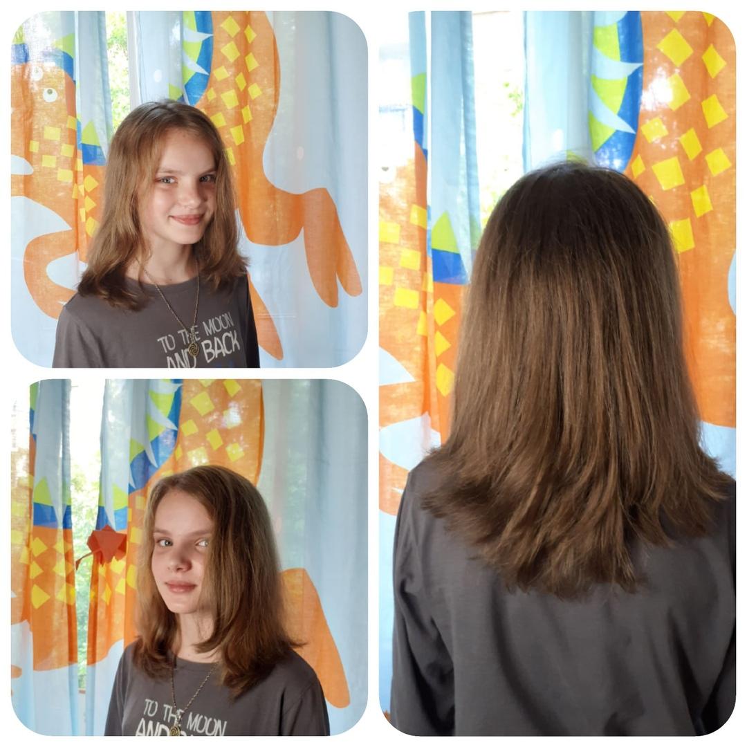 Волосики (((