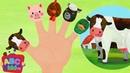 Finger Family Farm Animals CoComelon Nursery Rhymes Kids Songs