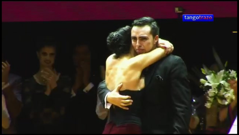 Джонатан Сааведра и Клариса Арагон Чемпионат Мира 2015 1 место