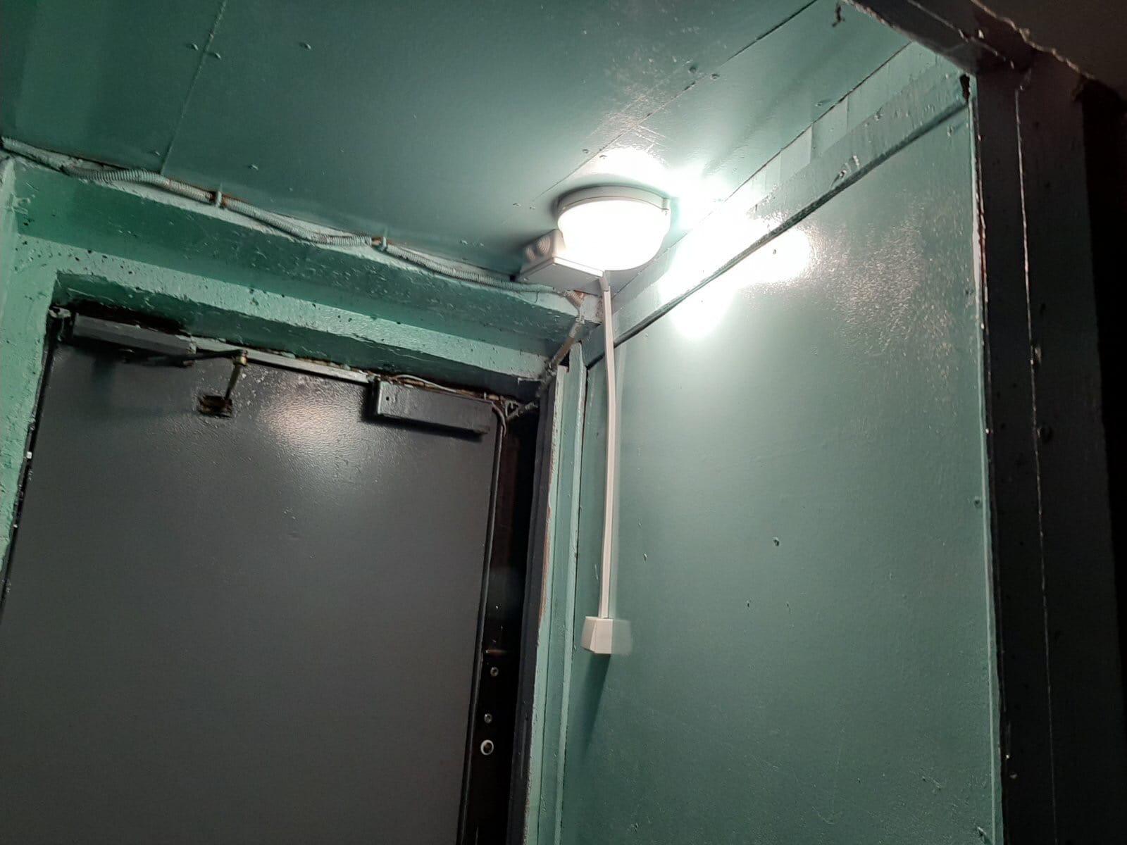 Проспект Строителей дом 46 Монтаж приборов освещения