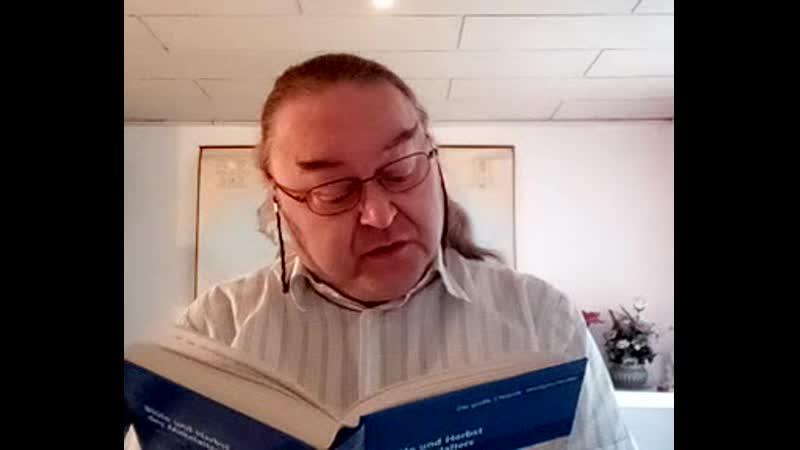 Egon Dombrowsky 17 10 2020 338 Stunde zur Weltgeschichte 856 Geschichtsstunde