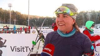 Тюменки медальными эстафетами завершили второй этап Кубка России по биатлону в «Жемчужине Сибири» (декабрь 2020)