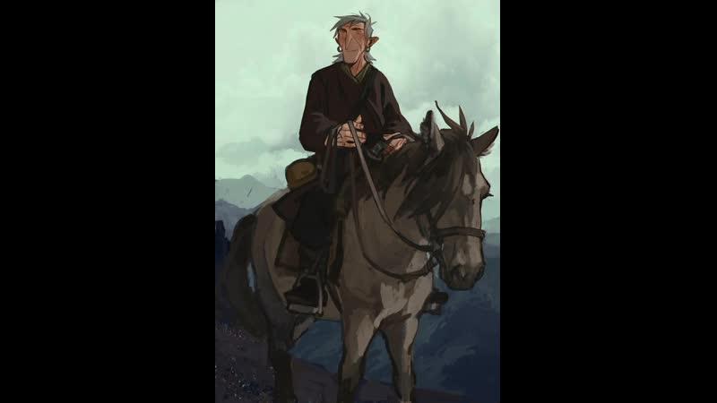 Айрат с лошадкой таймлапс