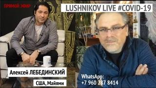 Профессор Лебединский (США, Майями) в Lushnikov Live #COVID-19 / 2 апр 2020