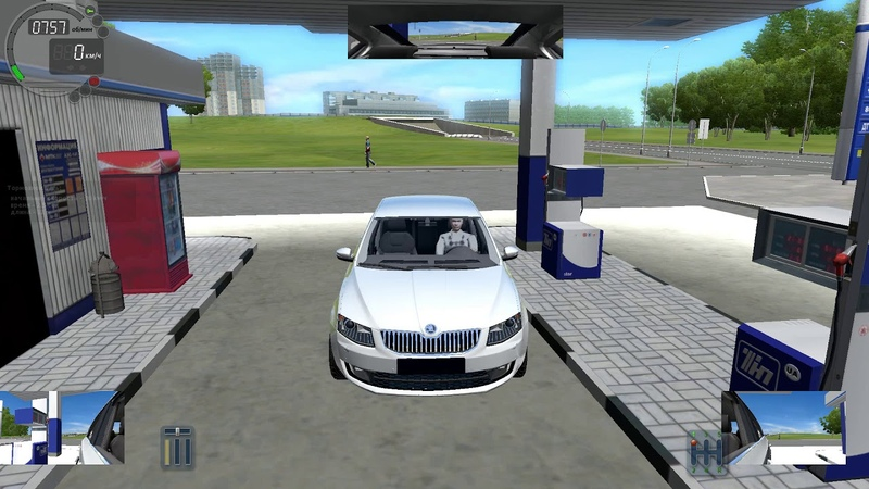 City Car Driving 13Skoda Octavia 1.8 TSI MT E