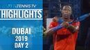 Nishikori's Winning Debut Monfils Stuns Cilic Dubai 2019 Day 2 Highlights