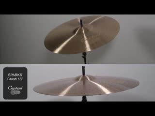 Centent Cymbals - SPARKS 18 Crash