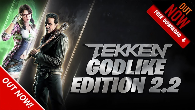 TEKKEN 7 GODLIKE EDITION 2 2 NEGAN JULIA