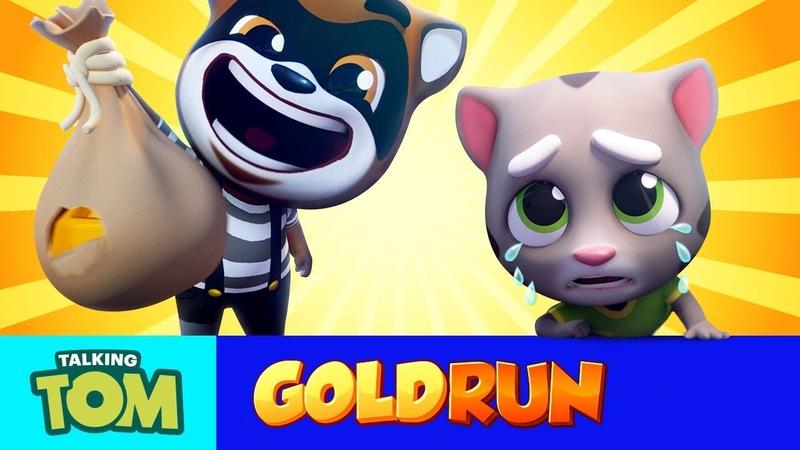 Talking Tom Gold Run MEGA TRAILER Cartoon Compilation
