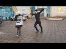 Девушка И Парень Танцуют Очень Классно В Москве 2021 Лезгинка Чеченская Королевая Моя ALISHKA AIDA